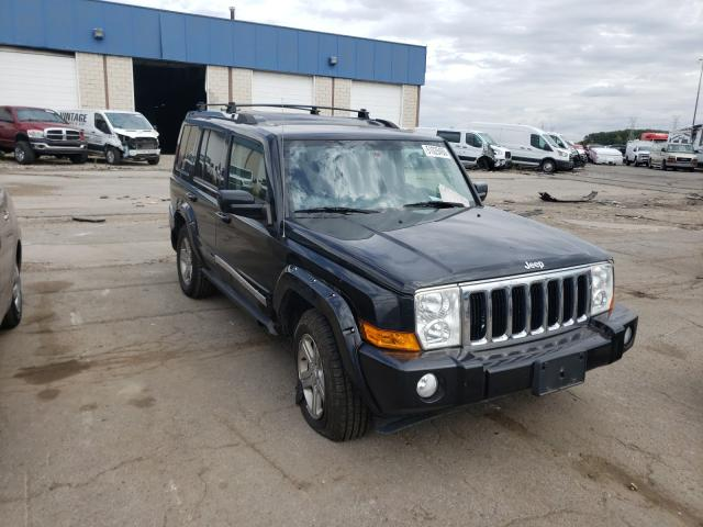 Salvage cars for sale at Woodhaven, MI auction: 2009 Jeep Commander