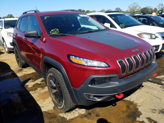 Salvage cars for sale from Copart Eight Mile, AL: 2017 Jeep Cherokee T