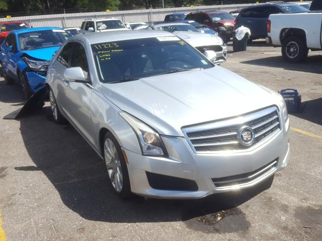 Salvage cars for sale from Copart Eight Mile, AL: 2013 Cadillac ATS Luxury