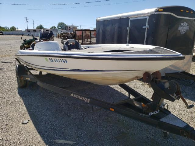 Salvage 2005 Stratos BOAT for sale