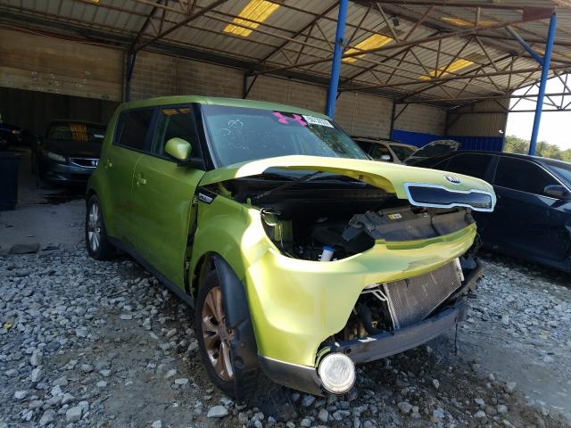 Salvage cars for sale from Copart Cartersville, GA: 2016 KIA Soul +