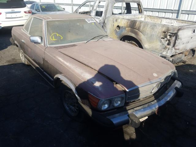 Mercedes-Benz 380 SL salvage cars for sale: 1985 Mercedes-Benz 380 SL
