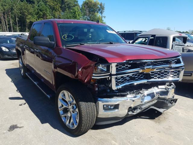 Salvage cars for sale from Copart Dunn, NC: 2014 Chevrolet Silverado