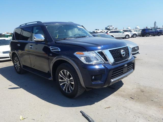 Vehiculos salvage en venta de Copart New Orleans, LA: 2020 Nissan Armada SV
