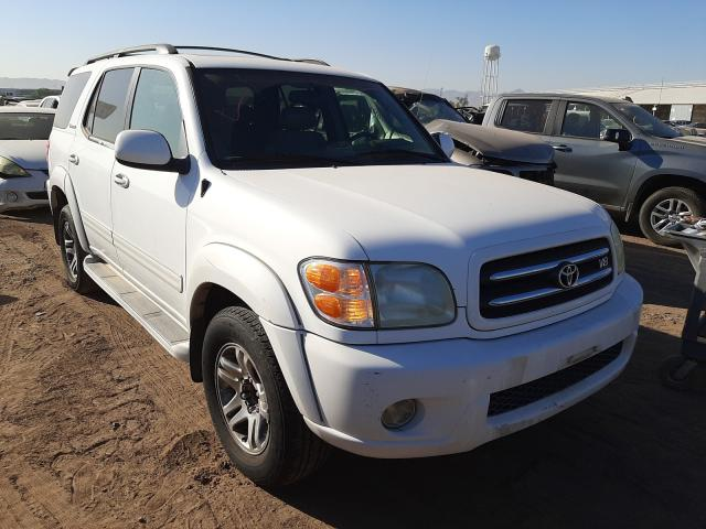 Salvage cars for sale from Copart Phoenix, AZ: 2004 Toyota Sequoia LI