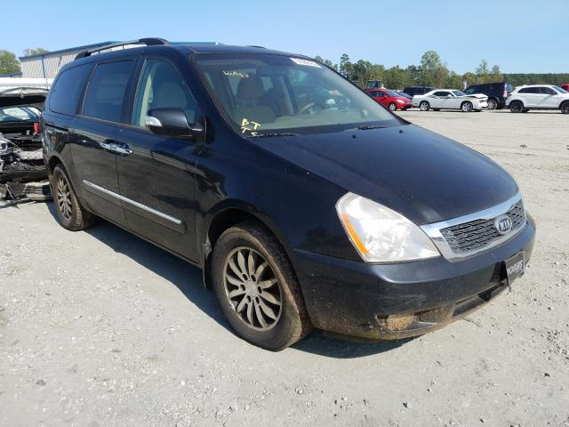 KIA Sedona EX salvage cars for sale: 2012 KIA Sedona EX