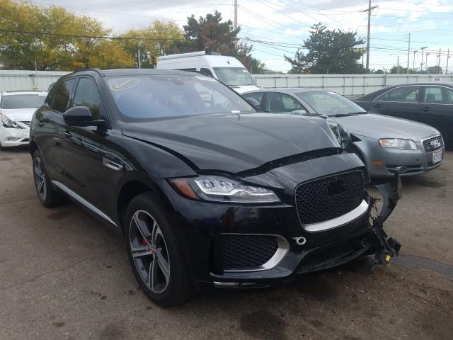 Salvage cars for sale from Copart Moraine, OH: 2017 Jaguar F-PACE S