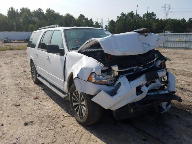 Salvage cars for sale from Copart Charles City, VA: 2017 Ford Expedition