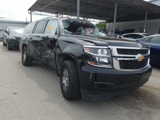 Salvage cars for sale from Copart Orlando, FL: 2020 Chevrolet Suburban K