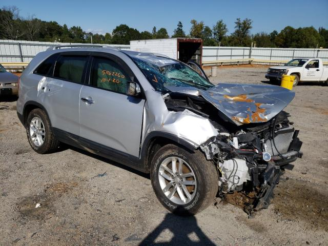 Salvage cars for sale from Copart Chatham, VA: 2014 KIA Sorento LX