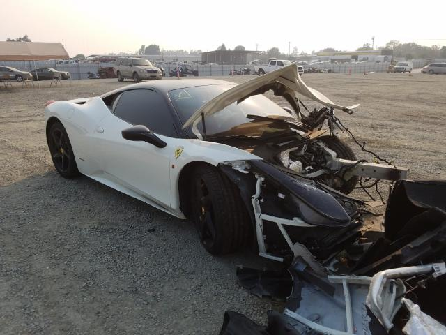 Ferrari 458 Italia salvage cars for sale: 2011 Ferrari 458 Italia
