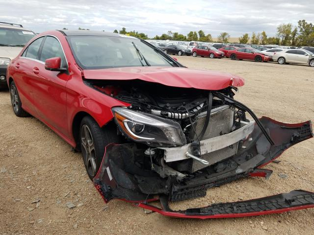 Salvage cars for sale from Copart Bridgeton, MO: 2014 Mercedes-Benz CLA 250 4M