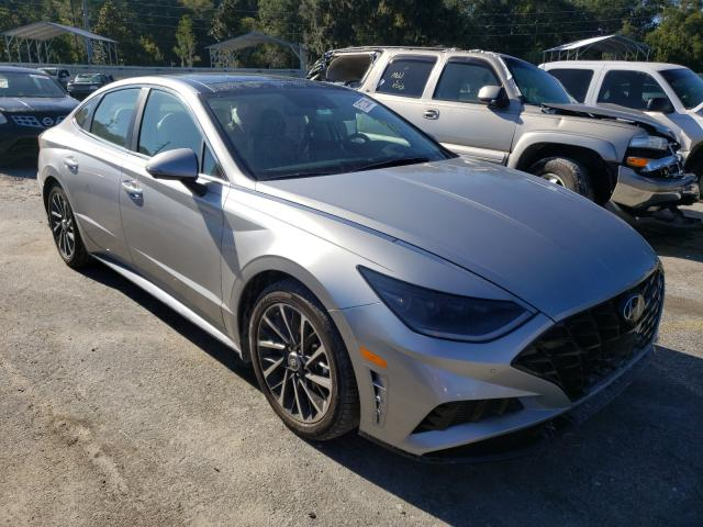 Hyundai Sonata LIM salvage cars for sale: 2020 Hyundai Sonata LIM