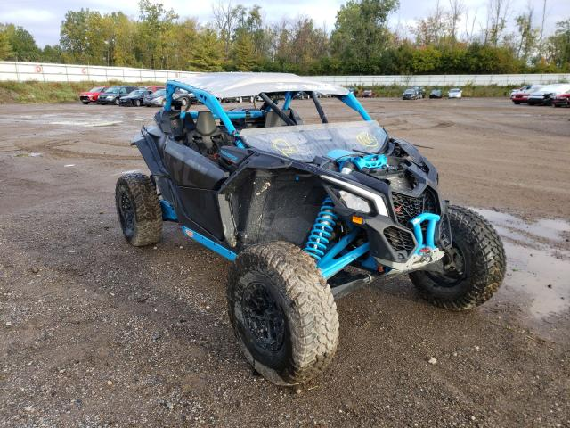 Salvage cars for sale from Copart Davison, MI: 2019 Can-Am Maverick X