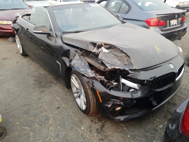 BMW 428 I Sulev salvage cars for sale: 2015 BMW 428 I Sulev