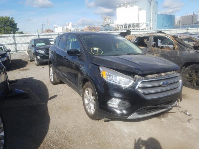 Vehiculos salvage en venta de Copart Chicago Heights, IL: 2017 Ford Escape SE