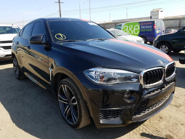 BMW Vehiculos salvage en venta: 2017 BMW X6 M