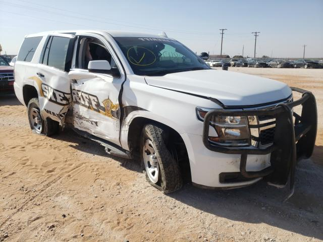 Salvage cars for sale from Copart Andrews, TX: 2019 Chevrolet Tahoe Special