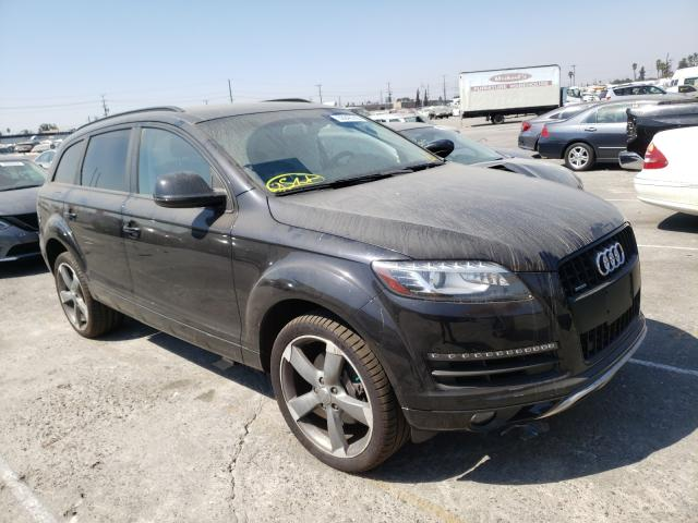 Salvage cars for sale from Copart Sun Valley, CA: 2015 Audi Q7 Premium