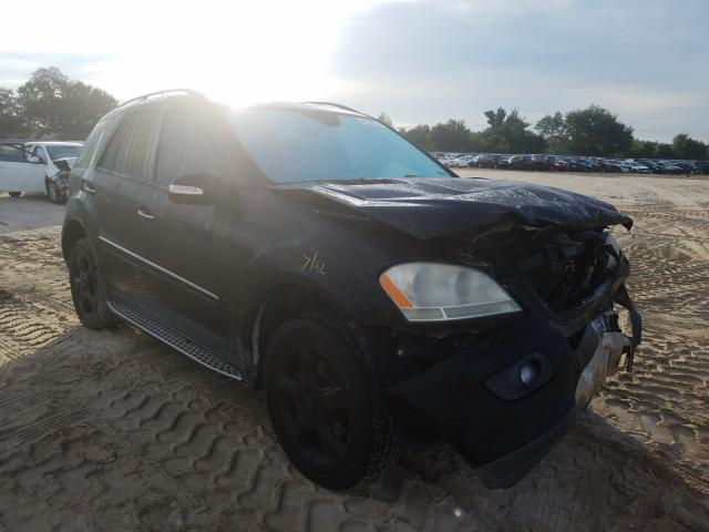 Mercedes-Benz ML 350 salvage cars for sale: 2007 Mercedes-Benz ML 350