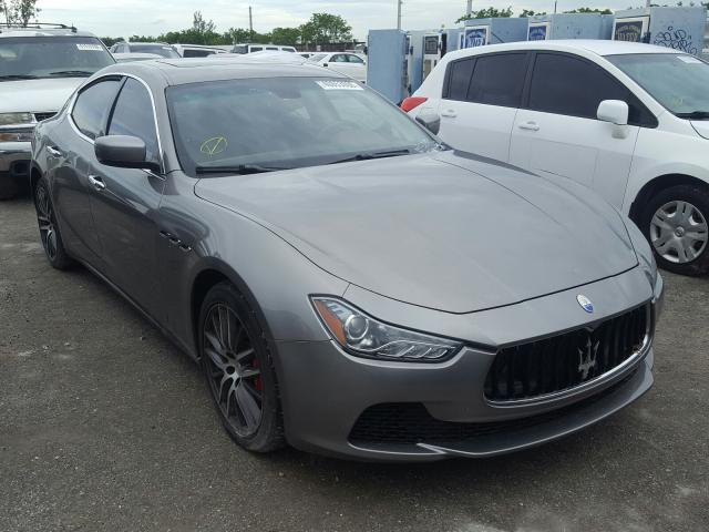 Salvage cars for sale from Copart Homestead, FL: 2016 Maserati Ghibli