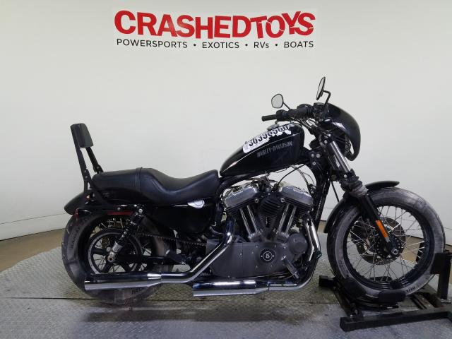 Harley-Davidson XL1200 NIG salvage cars for sale: 2012 Harley-Davidson XL1200 NIG