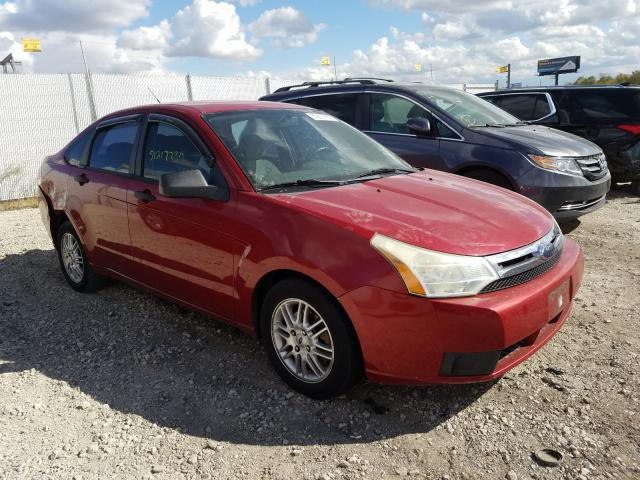 Salvage cars for sale from Copart Cicero, IN: 2009 Ford Focus SE