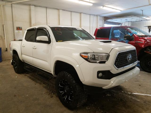 Salvage cars for sale from Copart Madisonville, TN: 2019 Toyota Tacoma DOU