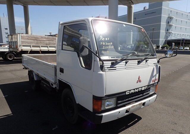 Mitsubishi Fuso salvage cars for sale: 1987 Mitsubishi Fuso