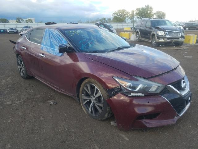 Nissan Maxima salvage cars for sale: 2016 Nissan Maxima
