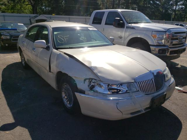 Lincoln salvage cars for sale: 2002 Lincoln Town Car C