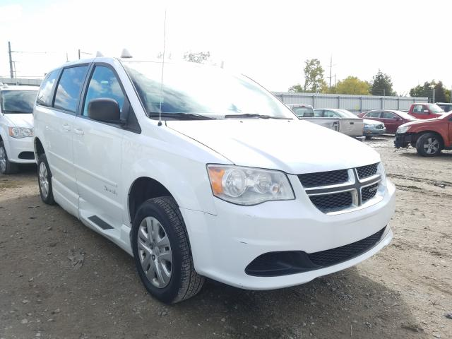 Salvage cars for sale from Copart Lansing, MI: 2015 Dodge Grand Caravan