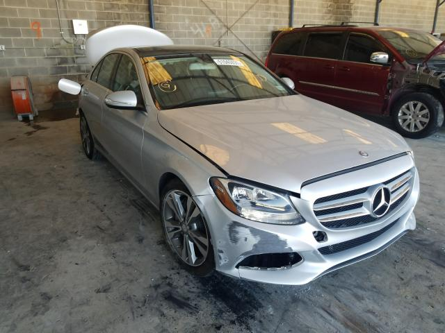 Salvage cars for sale from Copart Cartersville, GA: 2015 Mercedes-Benz C300