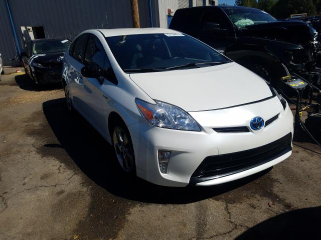 Salvage cars for sale from Copart Memphis, TN: 2013 Toyota Prius