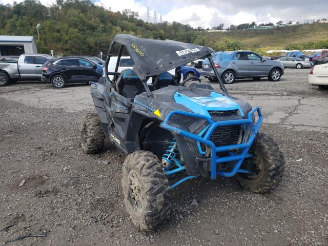 Salvage motorcycles for sale at West Mifflin, PA auction: 2019 Polaris RZR XP Turbo