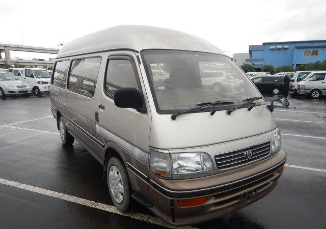 Salvage cars for sale at North Billerica, MA auction: 1995 Toyota Van Deluxe