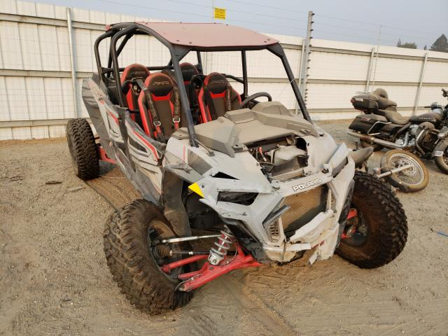Salvage cars for sale from Copart Bakersfield, CA: 2020 Polaris RZR XP 4 T