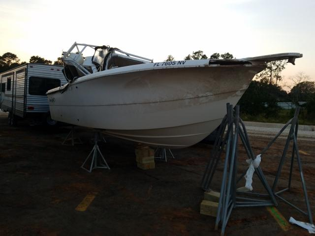 Fishmaster salvage cars for sale: 2008 Fishmaster 235 CC