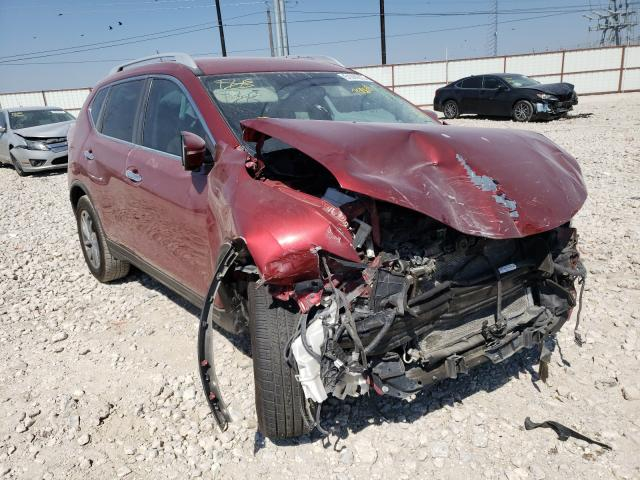 Nissan Rogue S salvage cars for sale: 2014 Nissan Rogue S