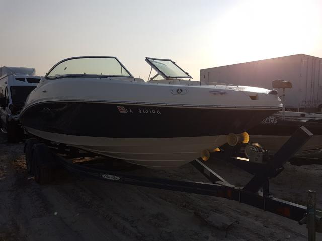 Sea Ray salvage cars for sale: 2008 Sea Ray 210 Sundec