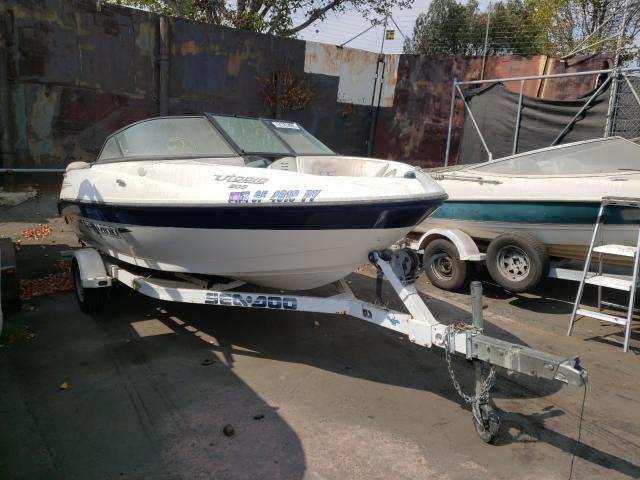 Salvage cars for sale from Copart Wilmington, CA: 2002 Bombardier Boat