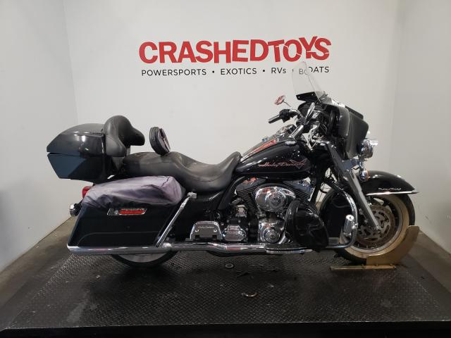 Salvage motorcycles for sale at Austell, GA auction: 2008 Harley-Davidson Flhr