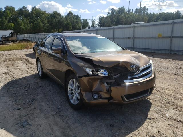 Salvage cars for sale from Copart Charles City, VA: 2013 Toyota Venza LE