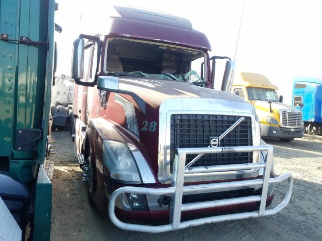 Salvage cars for sale from Copart Sacramento, CA: 2016 Volvo VN VNL