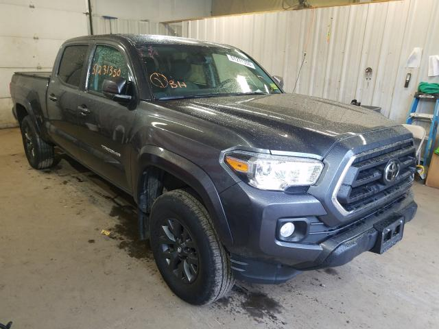 Salvage cars for sale from Copart Lyman, ME: 2020 Toyota Tacoma DOU