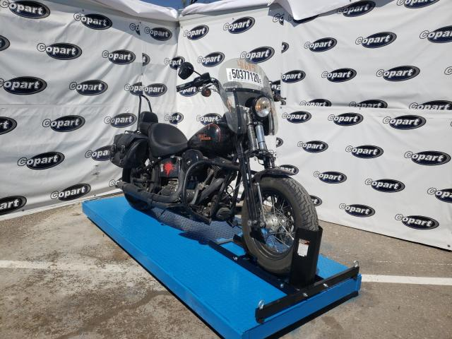Salvage cars for sale from Copart Anthony, TX: 2008 Harley-Davidson Flstsb