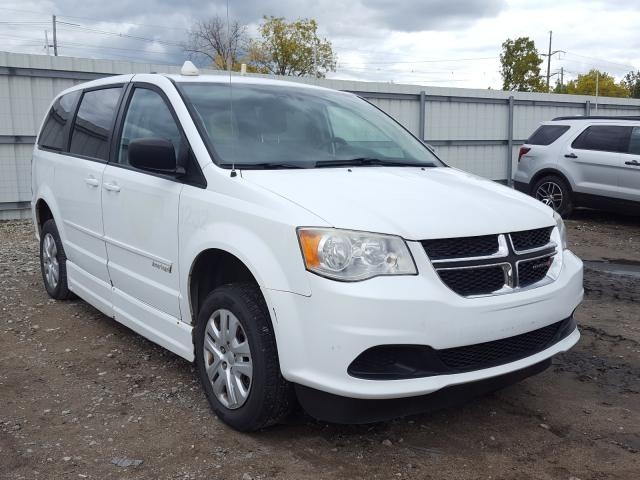 Salvage cars for sale from Copart Lansing, MI: 2014 Dodge Grand Caravan
