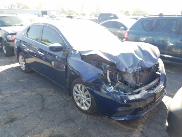 Salvage cars for sale from Copart Colton, CA: 2016 Nissan Sentra S