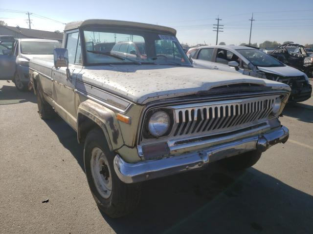 Salvage cars for sale from Copart Nampa, ID: 1973 Jeep J4000