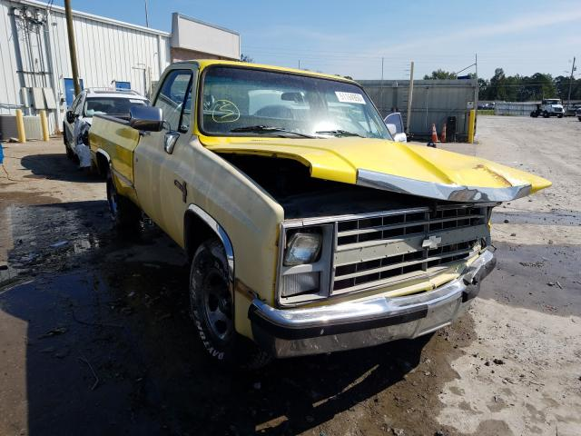 Chevrolet R10 salvage cars for sale: 1987 Chevrolet R10